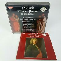 Johann Sebastian Bach 2 CD Box St John Johannes Passion, BWV 245 (1990) CHANDON