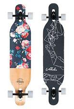 Volador 42inch Freeride Longboard ( Drop Through Camber Deck ) Floral vintage