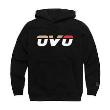BRAND NEW October's Very Own OVO Runner Logo Hoodie Black XL Drake Hoody BNWT