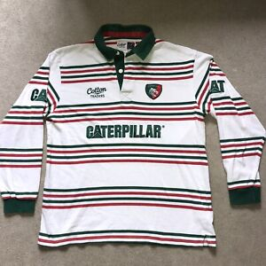 Leicester Tigers Away Rugby Union Shirt Rare  Top Jersey 2011/2012 Season Large