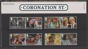 2020  Coronation Street + Mini Sheet Presentation Pack 586 - Ref:5612