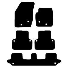 VOLVO Xc90 2003-2014 Tailored Black Car Floor Mats Carpets 5pc Set