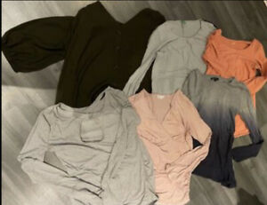 Size 10 Gap Blooming Marvellous H&M Maternity Tops Bundle x 6 items