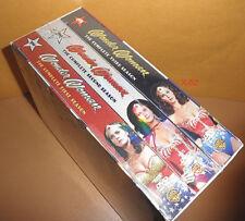 WONDER WOMAN lynda carter COMPLETE SEASON 1 2 3 BOX set DVD dc universe