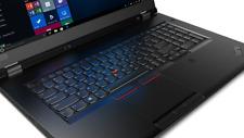 Lenovo ThinkPad P73 17,3-Zoll (512GB SSD, Intel Core i7-9750H, 2,6GHz, NVIDIA Quadro P620, 8GB RAM) Notebook - Schwarz (20QR0028GE)