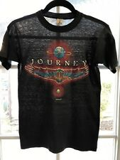 vtg 1980 JOURNEY Departure Tour Original Alton Kelley Paper Thin T-Shirt 70s 80s