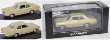 Minichamps 430046101 Opel Rekord C 1900 L gold metallic, 1:43