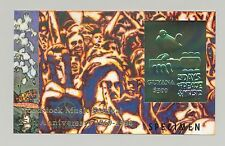 Guyana 1994 Woodstock Crowd Scene 1v Imperf S/S, Gold Inscription o/p Specimen
