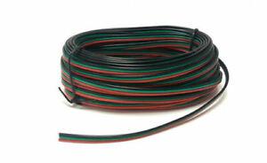 Gaugemaster PM51 10 Meters Tripled Point Motor Wire (Red/Green/Black)
