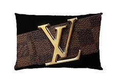 "Best Pillow Case Louis Vuitton Logo Two Side Printed 18""x26"""