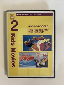 The Pebble and the Penguin & Rock-A-Doodle (DVD, 2010) - TESTED WORKS
