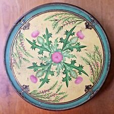 McVitie & Price Biscuit Tin Thistle Edinburgh Vintage