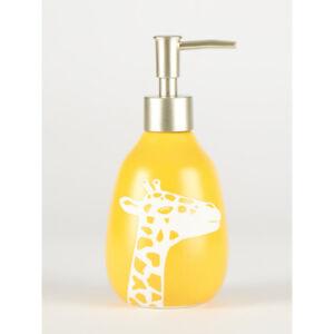 Yellow Giraffe Soap Dispenser