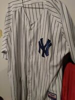 New York Yankees Mariano Rivera Majestic Authentic Performance Apparel Jersey 54