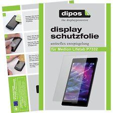 3x Medion Lifetab P7332 MD99103 Schutzfolie Display Folie P 7332 matt dipos