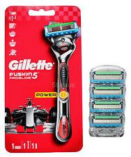 Gillette Fusion5 Proglide Power Flexball Rasierer + 4 Rasierklingen im Blister>5
