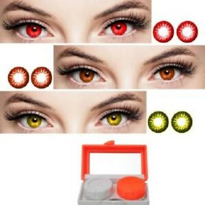 Red, Brown, Hazel Monthly Color eye disposable eye makeup beauty partywear