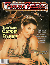 Femme Fatales Magazine Carrie Fisher July 1999 Star Wars Uncirculated