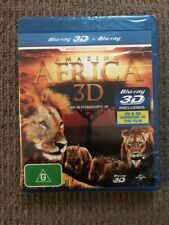 Amazing Africa 3D (Blu-ray, 2013) NEVER PLAYED & SEALED