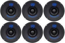 "(6) Rockville RM68SP CEA Compliant 6.5"" 480W Midrange Car Speakers 8 Ohm"