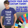 YOUR CUSTOM TEXT PRINTED ON A PERSONALISED T SHIRT  - STAG HEN BIRTHDAY HOLIDAY