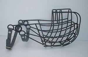 Greyhound / Lurcher Plastic Lightweight Muzzles with Wire Studs