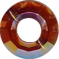 5139 12 RM *** 1 anneau Swarovski 12,5mm CRYSTAL RED MAGMA