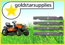 "2 X SETS OF 38"" RIDE-ON MOWER BLADES TO SUIT HUSQVARNA MODELS (5 point star)"