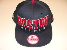 821fea356 2011 New Era Boston Red Sox MLB Baseball Snapback Cap Hat Fade Out Black Red
