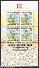 Groenland Grønland 2000 blok 19 Hafnia 01 Postfris MNH cat waarde € 7,50