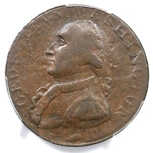 (1795) Baker-34a PCGS VF 30 Lettered Edge North Wales Halfpenny 1/2p