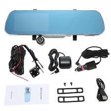 "5"" Android Smart TF Card GPS Nav Car DVR Rearview Mirror Camera Recorder KE47"