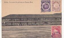 B81727 bolivia las casas de gobierno en baures beni front/back image