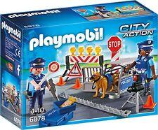 PLAYMOBIL City Action Edition Original Polizei-Straßensperre Kinder Spielzeug