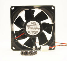 80mm 25mm New Case Fan 12V DC IP55 Waterproof 60CFM 2 Wire Cooling Ball Brg 311*