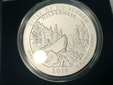 2019-P Frank Church River Of No Return Wilderness IDAHO ATB 5 OZ SILVER WITH BOX