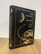 From the Earth to the Moon by Jules Verne - Easton Press 1970 w Note - VG