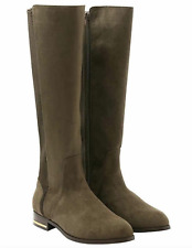 """Kensie Women's Tayson Tall Boots 16"""" Knee High Taupe Brown Size 7 (1Q40)"""
