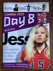 LONDON 2012 THE OFFICIAL PARALYMPIC GAMES DAILY PROGRAMME DAY 8