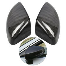 1 Pair Carbon Fiber Style Wing Side Mirror Cover Housing For Audi A3 S3 RS3