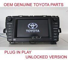 OEM GENUINE 8612047390 TOYOTA PRIUS JBL NAVIGATION + DVD CHANGER USA RADIO