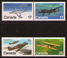 Canada 1980 Sc874a,76a Mi784-87 2pairs mnh Airplanes
