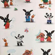 Bing Bunny & Friends Wallpaper Niños Childrens Room WP4-BIN-BUN-12