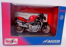 Moto miniature -MV Agusta Brutale Oro- Maisto 1/18 - TBE