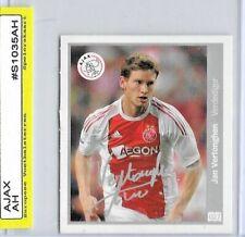 2010 DUTCH Football CARD Jan Vertonghen AJAX - ROOKIE card / sticker