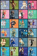 1st To 70th WEDDING ANNIVERSARY CARD 10th 25th 30th 40th 50th 60th And Many More