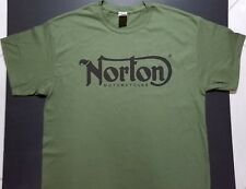 Brand New Norton Motorcycles T-Shirt bsa vintage hot rod speed* cafe racer style (Fits: Royal Enfield)