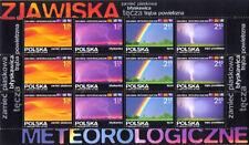** Special sheet Fi 4205-4208 - meteorological phenomena - POLAND 2008 - MNH