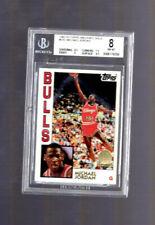 1992-93 Topps Archives Gold Stamp Michael Jordan #52 BGS 8 HOF Chicago Bulls