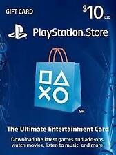 gift card PlayStation 10 usd